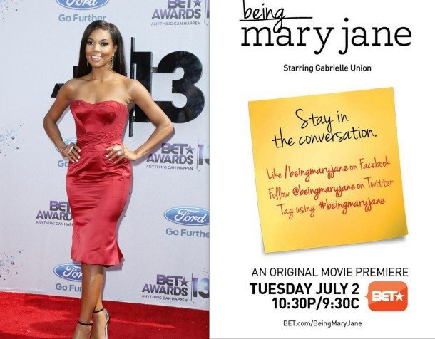 Being Mary Jane Starring Gabrielle Union