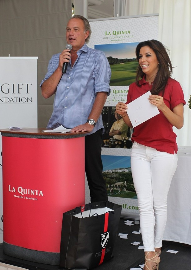 Global Gift Gala - Celebrity Golf Tournament 2013 - Luncheon and Prize Giving