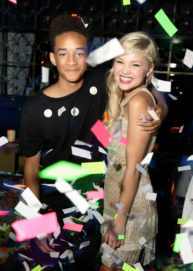 Jaden Smith & Debby Ryan Spotted At Olivia Holt's Sweet ...