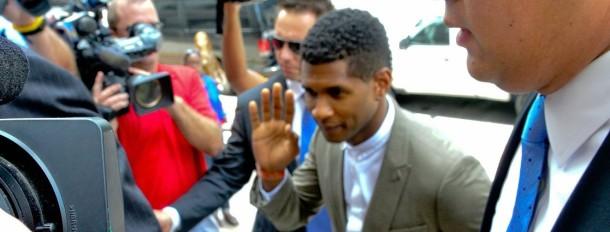 Usher & Ex-Wife Tameka Foster In Court For Custody Battle Following Son's Near Drowning