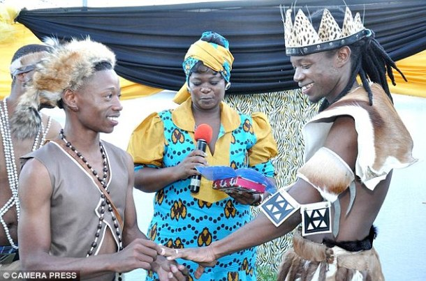 First Traditional African Gay Wedding Ceremony